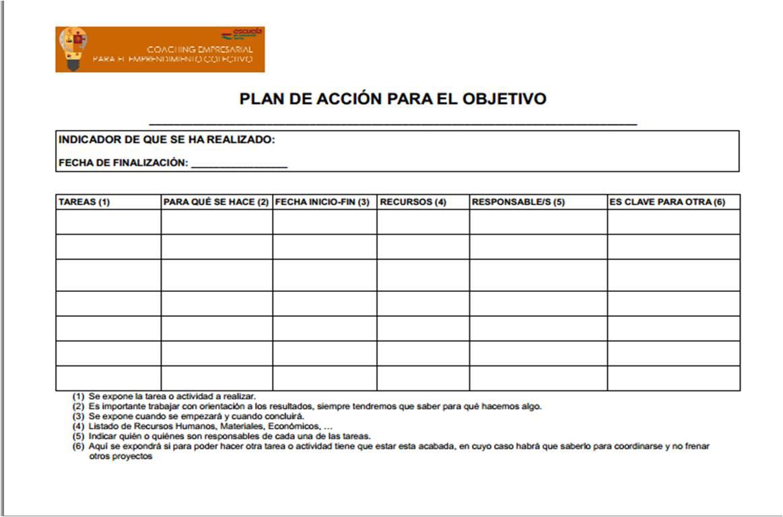 Famoso Plantilla De Plan Colección - Colección De Plantillas De ...